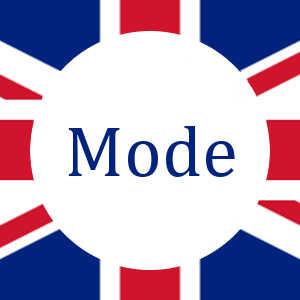 Britische Mode