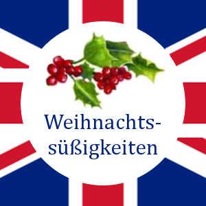 Englische Weihnachtssüßigkeiten