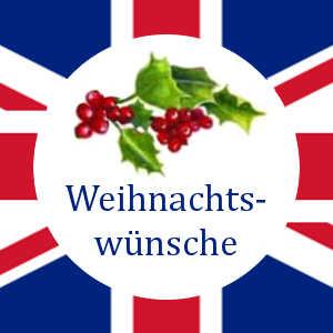 Englische Weihnachtswünsche